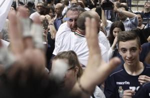 Festeggiamenti: L'Emma Villas Siena è in Superlega!