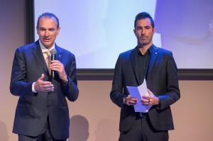 Massimo Righi AD Legavolley saluta gli ospiti