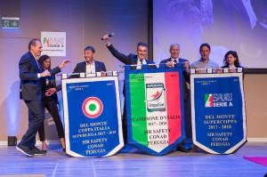 Sirci, Rizzuto e Recine ritirano i premi per Perugia