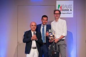 Fabirzio Migliosi, premiato miglior ufficio stampa A2