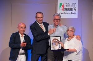 Lorenzo Dallari, insginito del Premio dedicato ad Adelio