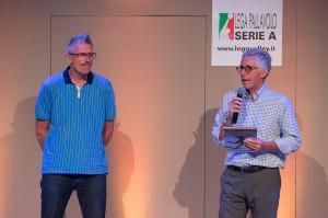 Dallari riceve il premio Pistelli, Passione per lo sport