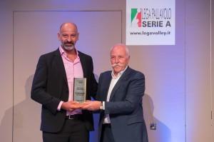 Barani, Presidente Roma riceve il premio per la promozione