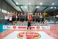 Volley Treviso trionfa a Castellana Grotte e vince la Del Monte Junior League 2016-2017 - Trofeo Massimo Serenelli.