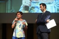 Paola De Micheli, Presidente Legavolley fa gli onori di casa