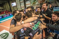 La Kioene Padova festeggia la vittoria