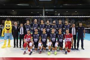 08/10/2017 Del Monte Supercoppa Finale 3° Posto Diatec Trentino - Azimut Modena