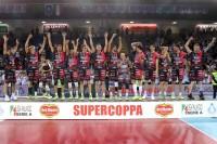 Sir Safety Perugia sul podio della vittoria