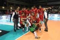 Piacenza esulta a fine partita