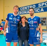 Monica Cresta tra Picco e Borgogno, suoi ex atleti
