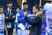 Time out allenatore Adriano Di Pinto - GoldenPlast Potenza Picena