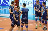 I giocatori di Ravenna esultano