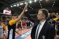 Coach Grbic e Luca Spirito
