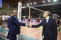 Saluto dei Coach Barbiero - Baldovin