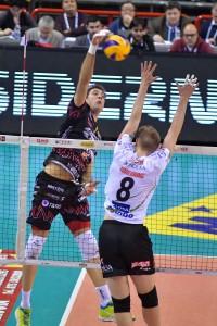 Atanasijevic in attacco per Perugia