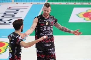 27/01/2018 Del Monte Coppa Italia 2a Semifinale: Diatec Trentino - Sir Safety Conad Perugia