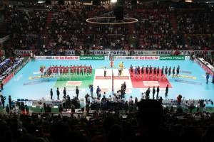 28/01/2018 Civitanova - Perugia Finale Del Monte Coppa Italia SuperLega