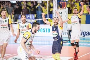 08/04/2018 Monini Marconi VS Kemas Lamipel Santa Croce - quarti di finale (Foto di Cristian Sordini)