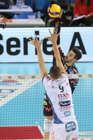 01/11/2019 Del Monte Supercoppa 2a Semifinale Perugia - Trento