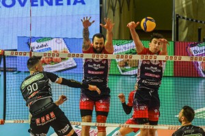 28/02/2021 Kioene Padova vs Gas Sales Bluenergy Piacenza