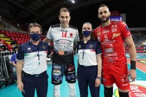 21/04/2021 Lega Volley: Sir Safety Conad Perugia vs Cucine Lube Civitanova
