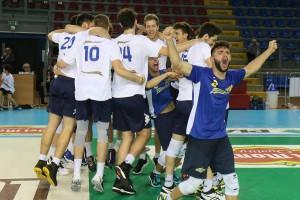 Finale Del Monte Junior League - Esultanza post vittoria Castellana Grotte