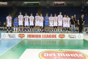 Finale Del Monte Junior League - Il secondo posto della Cucine Lube Civitanova
