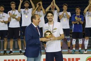 Finale Del Monte Junior League - Daniele Lavia, schiacciatore di Castellana Grotte, MVP della Del Monte Junior League