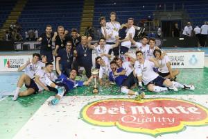 Finale Del Monte Junior League - Il trionfo podio della Materdominivolley.it Castellana Grotte