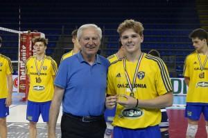Il capitano di Verona premiato per il 6o posto