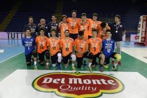 Caloni Agnelli Bergamo 5a classificata
