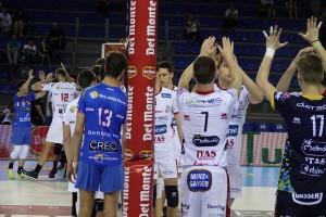Abbracci pre semifinale per Trento e Civitanova