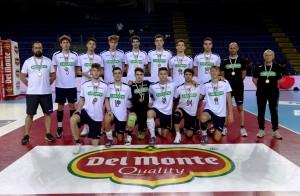 Kioene Padova, 4a classificata della Del Monte Junior League 2018