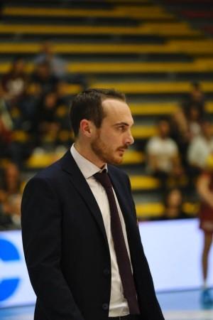 Primo piano coach Valentini