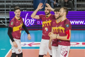 ingresso quintetto Roma volley