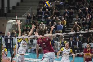 schiacciata Zappoli Enrico (Roma volley)