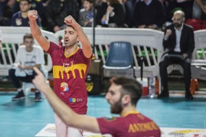 esultanza (Roma volley)