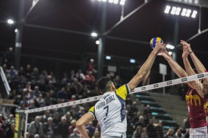 a rete Padura (monini) e (Roma volley)