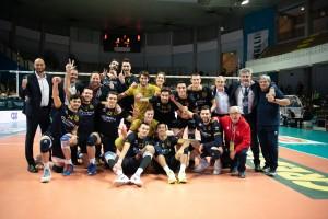 Esultanza Olimpia Bergamo