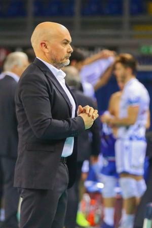 L\'allenatore Mastrangelo Vincenzo - Conad Reggio Emilia