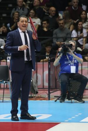 Fefx De Giorgi, allenatore Lube