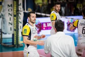 direttive in campo tra Coach Tardioli Francesco e Romolo Mariano (monini)