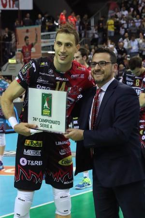 Credem Banca MVP Semifinali: Atanasijevic (Perugia)
