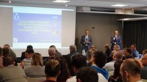 Incontro tra Fabrizio Pasquali e la Serie A Credem Banca a Bologna organizzato dalla Lega Pallavolo Serie A