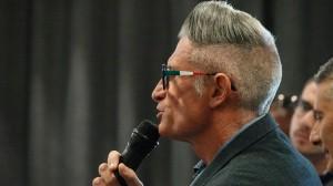 Andrea Lucchetta, commentatore RAI, presente all'incontro con Fabrizio Pasquali