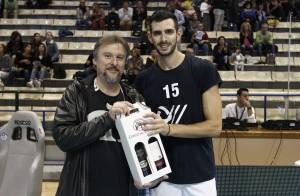 Michele Fedrizzi premiato come ex giocatore