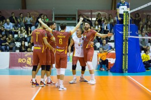 Esultanza Roma Volley 2