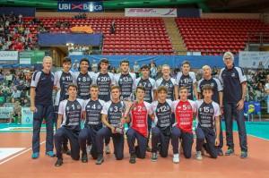 Sfilata d'Onore dei Campioni d'Italia Under 16 in carica