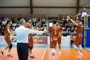 Esultanza Roma Volley Club