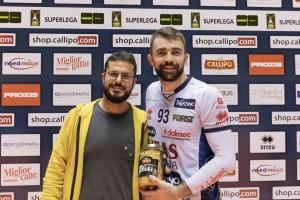 Kovacevic premiato MVP